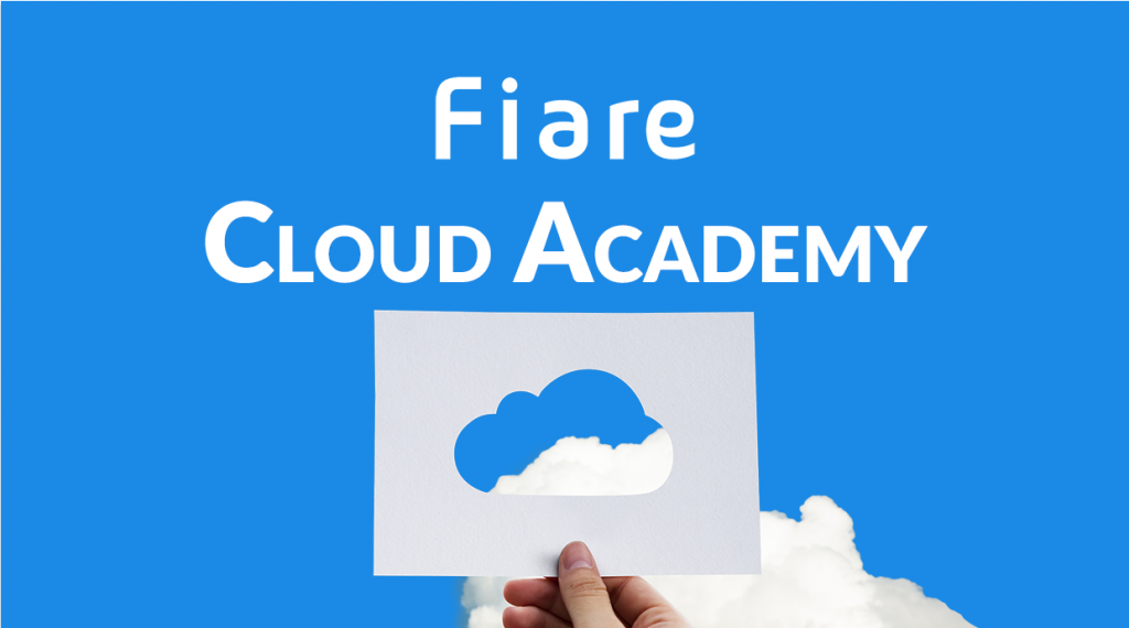 Fiare Cloud Academy banner