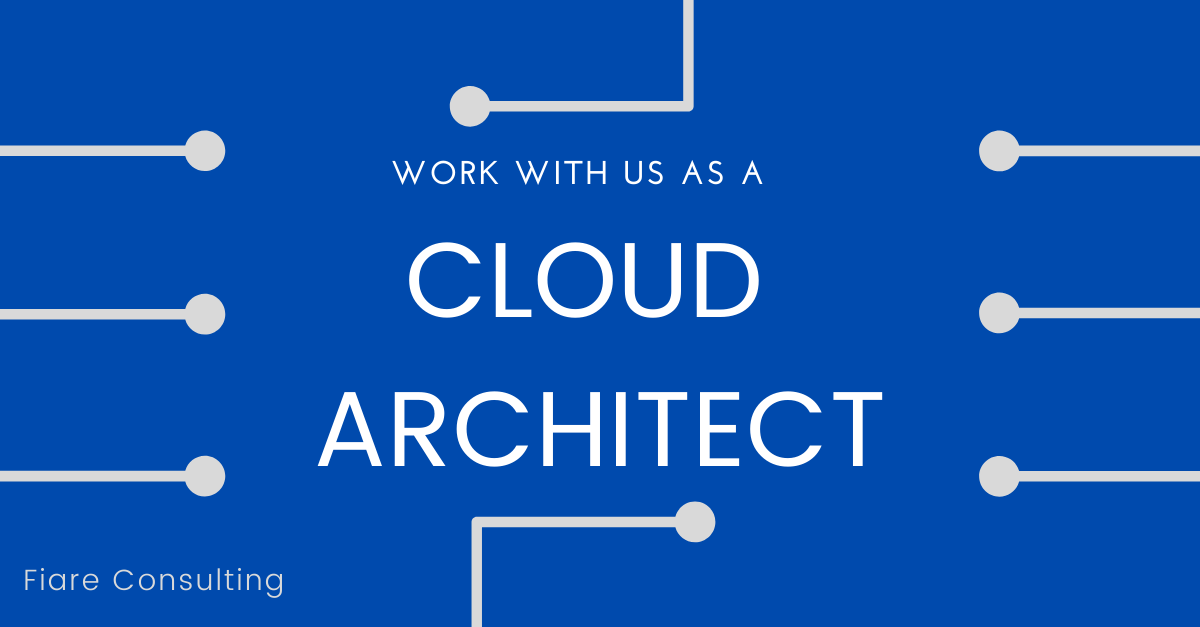 Cloud Architect Job