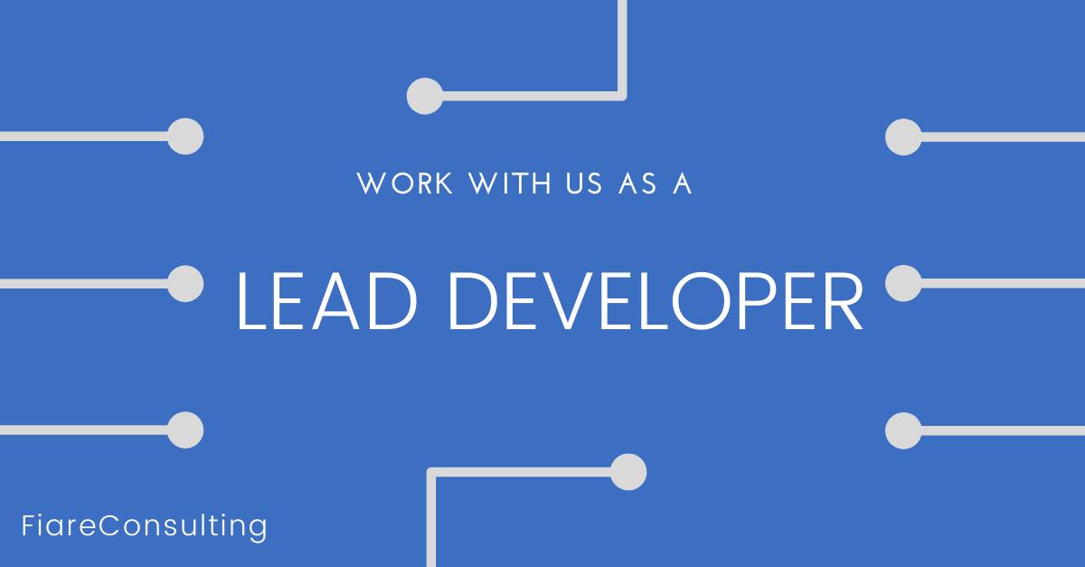 Lead Developer at Fiare Consulting